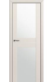 Двери Профиль Дорс 10U Магнолия Сатинат Стекло Белый Триплекс