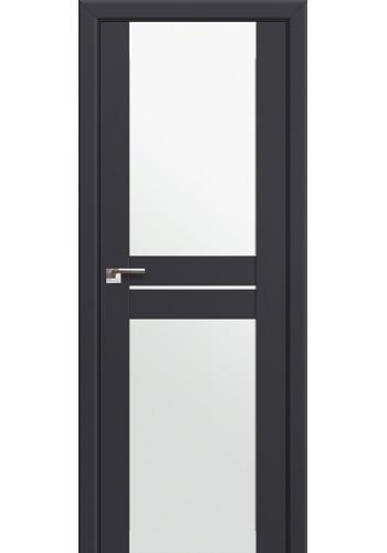 Двери Профиль Дорс 10U Антрацит Стекло Белый Триплекс