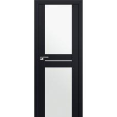 Двери Профиль Дорс 10U Темно-коричневый Стекло Белый Триплекс