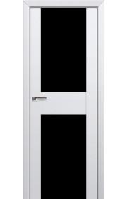 Двери Профиль Дорс 11U Аляска Стекло Черный Триплекс