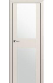 Двери Профиль Дорс 11U Магнолия Сатинат Стекло Белый Триплекс