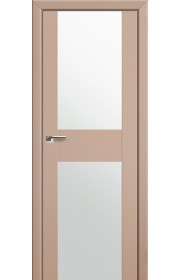 Двери Профиль Дорс 11U Капучино Сатинат Стекло Белый Триплекс