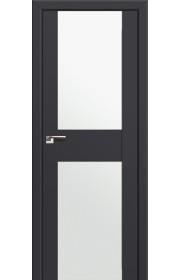Двери Профиль Дорс 11U Антрацит Стекло Белый Триплекс