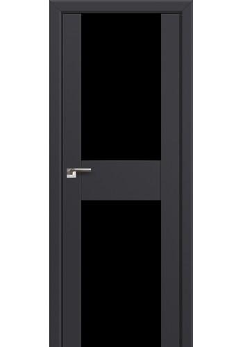 Двери Профиль Дорс 11U Антрацит Стекло Черный Триплекс