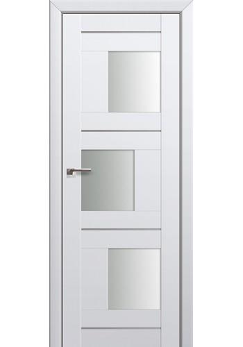 Двери Профиль Дорс 13U Аляска Стекло Белый Триплекс