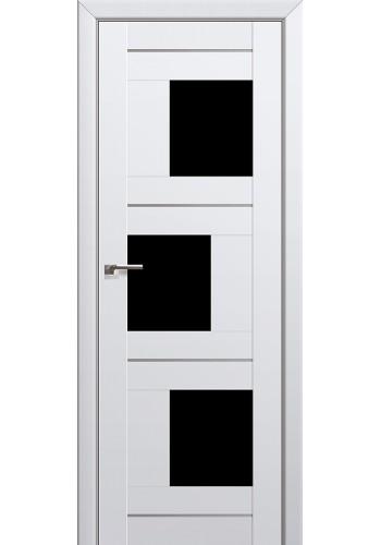 Двери Профиль Дорс 13U Аляска Стекло Черный Триплекс