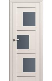 Двери Профиль Дорс 13U Магнолия Сатинат Стекло Графит