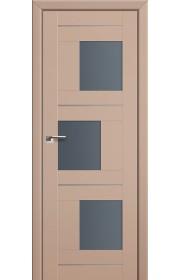 Двери Профиль Дорс 13U Капучино Сатинат Стекло Графит