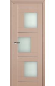 Двери Профиль Дорс 13U Капучино Сатинат Стекло Мателюкс