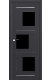 Двери Профиль Дорс 13U Антрацит Стекло Черный Триплекс