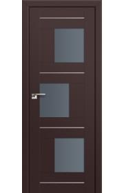 Двери Профиль Дорс 13U Темно-коричневый Стекло Графит