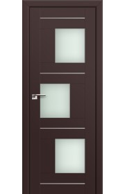 Двери Профиль Дорс 13U Темно-коричневый Стекло Мателюкс