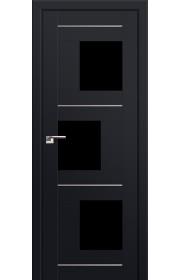 Двери Профиль Дорс 13U Черный матовый Стекло Черный Триплекс