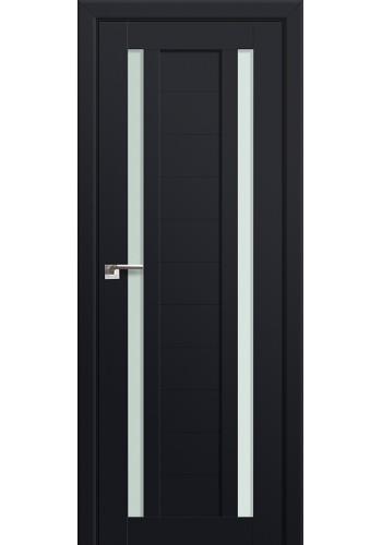 Двери Профиль Дорс 15U Черный матовый Стекло Мателюкс
