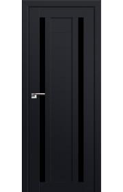 Двери Профиль Дорс 15U Черный матовый Стекло Черный Триплекс