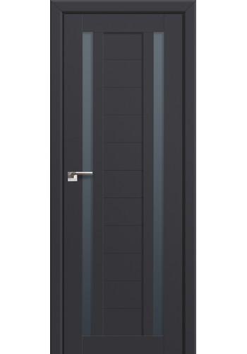Двери Профиль Дорс 15U Антрацит Стекло Графит