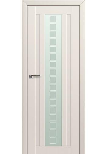 Двери Профиль Дорс 16U Магнолия Сатинат Стекло Квадро