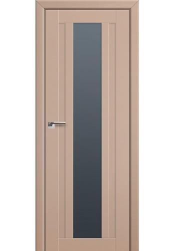 Двери Профиль Дорс 16U Капучино Сатинат Стекло Графит