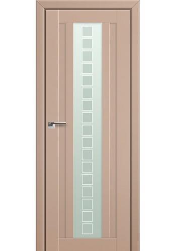 Двери Профиль Дорс 16U Капучино Сатинат Стекло Квадро