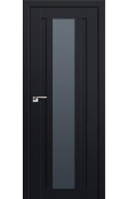 Двери Профиль Дорс 16U Черный матовый Стекло Графит
