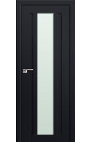 Двери Профиль Дорс 16U Черный матовый Стекло Мателюкс