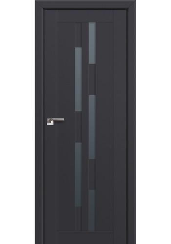 Двери Профиль Дорс 30U Антрацит Стекло Графит