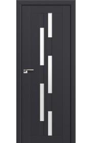 Двери Профиль Дорс 30U Антрацит Стекло Белый Триплекс