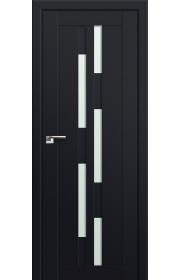 Двери Профиль Дорс 30U Черный матовый Стекло Мателюкс