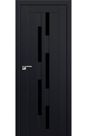 Двери Профиль Дорс 30U Черный матовый Стекло Черный Триплекс