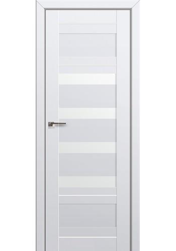 Двери Профиль Дорс 32U Аляска Стекло Белый Триплекс