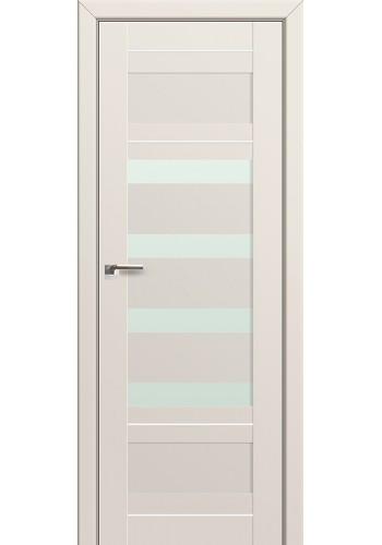 Двери Профиль Дорс 32U Магнолия Сатинат Стекло Белый Триплекс