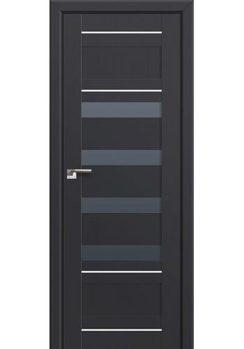 Двери Профиль Дорс 32U Антрацит Стекло Графит