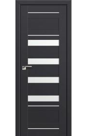 Двери Профиль Дорс 32U Антрацит Стекло Белый Триплекс