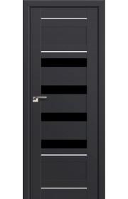 Двери Профиль Дорс 32U Антрацит Стекло Черный Триплекс