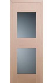 Двери Профиль Дорс 51U Капучино Сатинат Стекло Графит