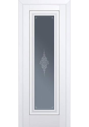 Двери Профиль Дорс 24U Аляска Стекло Кристалл Графит Серебро