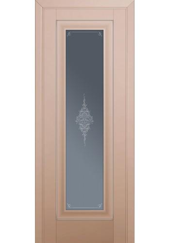 Двери Профиль Дорс 24U Капучино Сатинат Стекло Кристалл Графит Серебро
