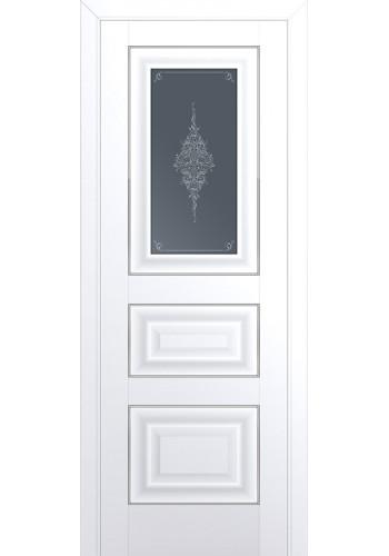 Двери Профиль Дорс 26U Аляска Стекло Кристалл Графит Серебро