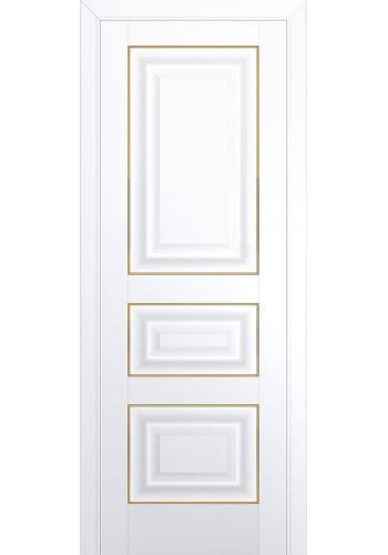 Двери Профиль Дорс 25U Аляска ДГ Золото