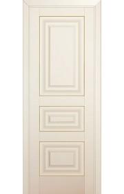 Двери Профиль Дорс 25U Магнолия Сатинат ДГ Золото