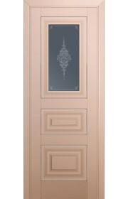 Двери Профиль Дорс 26U Капучино Сатинат Стекло Кристалл Графит Серебро
