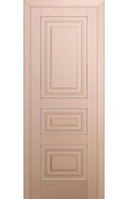 Двери Профиль Дорс 25U Капучино Сатинат ДГ Серебро