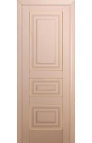 Двери Профиль Дорс 25U Капучино Сатинат ДГ Золото