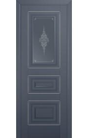 Двери Профиль Дорс 26U Антрацит Стекло Кристалл Графит Серебро