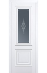 Двери Профиль Дорс 28U Аляска Стекло Кристалл Графит Серебро