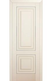 Двери Профиль Дорс 27U Магнолия Сатинат ДГ Серебро