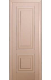 Двери Профиль Дорс 27U Капучино Сатинат ДГ Серебро