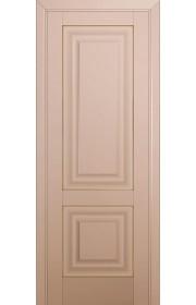 Двери Профиль Дорс 27U Капучино Сатинат ДГ Золото