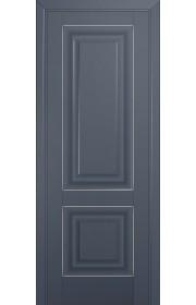 Двери Профиль Дорс 27U Антрацит ДГ Серебро