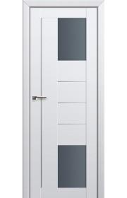 Двери Профиль Дорс 43U Аляска Стекло Графит